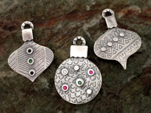 Metal Clay - All I Want for Christmas Pendant @ A Place to Bead | San Marino | California | United States