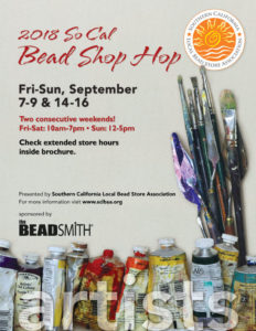 2018 SCLBSA BEAD SHOP HOP @ A Place to Bead | San Marino | California | United States