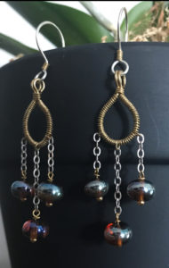 Bohemian Rhapsody Earrings @ A Place to Bead | San Marino | California | United States