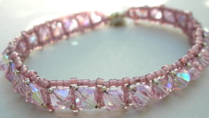 Crystal Tennis Bracelet @ A Place to Bead | San Marino | California | United States