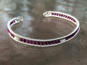 Intro to Wire Weaving - Bracelet @ A Place to Bead | San Marino | California | United States