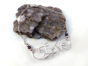 Intro to Wire Writing - Love Bracelet @ A Place to Bead | San Marino | California | United States