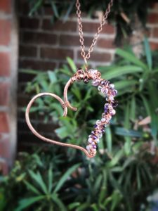 Bunches of Love Wire Pendant @ A Place to Bead | San Marino | California | United States