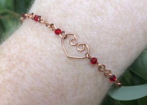 The Love Eternal Wire Bracelet @ A Place to Bead | San Marino | California | United States