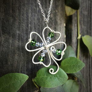 Four Leaf Clover Pendant @ A Place to Bead | San Marino | California | United States