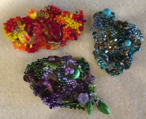 Whimsy Brooch @ A Place to Bead | San Marino | California | United States