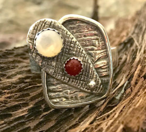 Layers Fine Silver Ring @ A Place to Bead | San Marino | California | United States