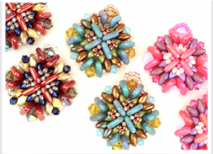 Regalia Earrings @ A Place to Bead | San Marino | California | United States