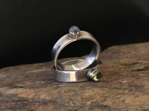Simple Solitaire Ring @ A Place to Bead | San Marino | California | United States