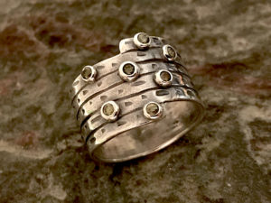 Metal Clay - That's a Wrap Ring @ A Place to Bead | San Marino | California | United States