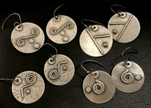 Twist & Turns Sterling Earrings @ A Place to Bead | San Marino | California | United States