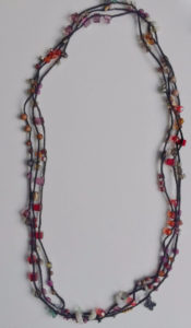 Crochet Beaded Chain @ A Place to Bead | San Marino | California | United States