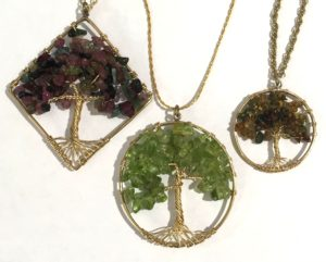 Gemstone Tree Pendant @ A Place to Bead | San Marino | California | United States