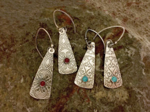 Metal Clay - Simply Elegant Earrings @ A Place to Bead | San Marino | California | United States