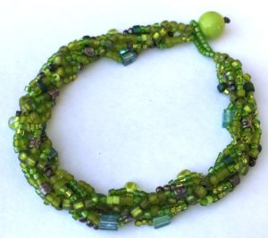 Spiral Stitch Bracelet @ A Place to Bead | San Marino | California | United States