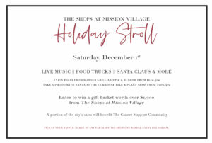 Holiday Stroll on Mission Street @ A Place to Bead | San Marino | California | United States