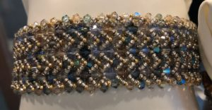 Triple Your Crystals Cuff @ A Place to Bead | San Marino | California | United States