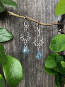 Wire Dangle Earrings @ A Place to Bead | San Marino | California | United States
