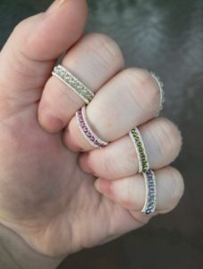Intro to Wire Weaving @ A Place to Bead | San Marino | California | United States