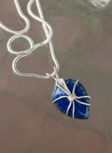 Wire Wrapped Pendant @ A Place to Bead | San Marino | California | United States