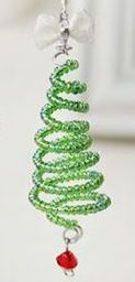 Wire Holiday Tree @ A Place to Bead | San Marino | California | United States